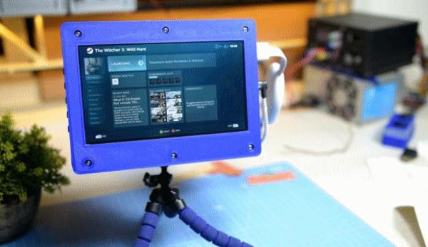 3D-печатная рамка для сенсорного монитора