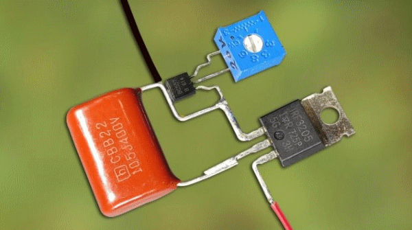 Простая схема акустического выключателя