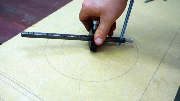 Делаем комбинированный разметочный рейсмус с циркулем