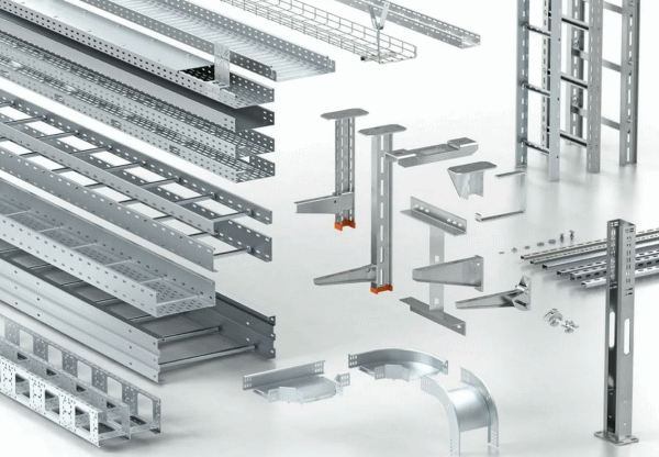 Металлические кабельные каналы для промышленных зданий