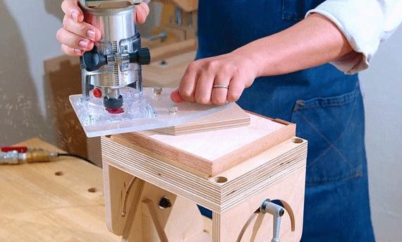 Расширенная подошва для ручного фрезера своими руками