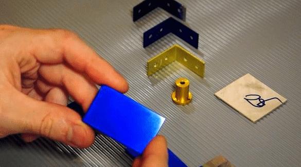 Простой способ анодирования алюминия