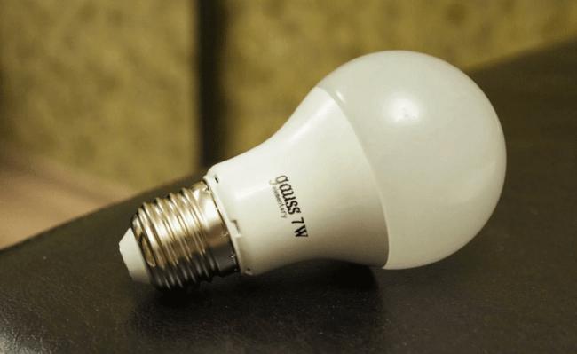 Светодиодные лампы. Условия эксплуатации ламп