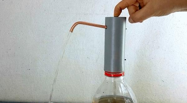 Простая электрическая помпа для воды и напитков своими руками