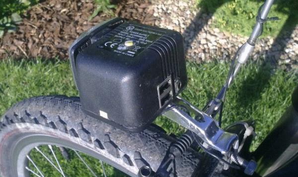 USB адаптер для велосипеда