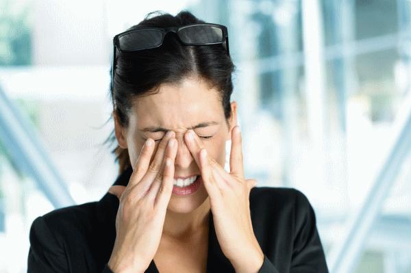 Причины болезненности в глазах