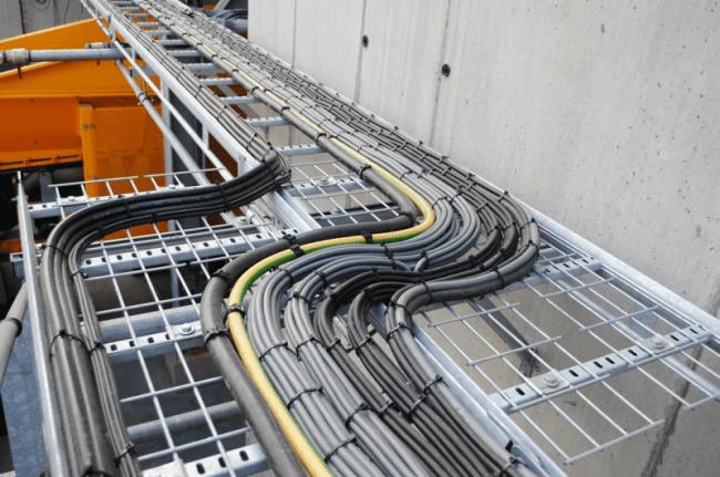 Применение кабеленесущих систем