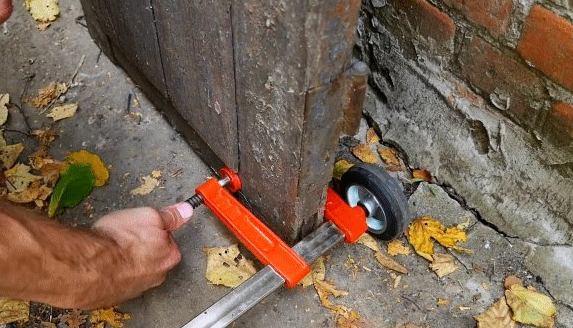 Каталка для перемещения габаритных предметов своими руками