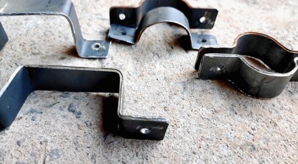 Как доработать наковальню простым приспособлением для изготовления любых хомутов