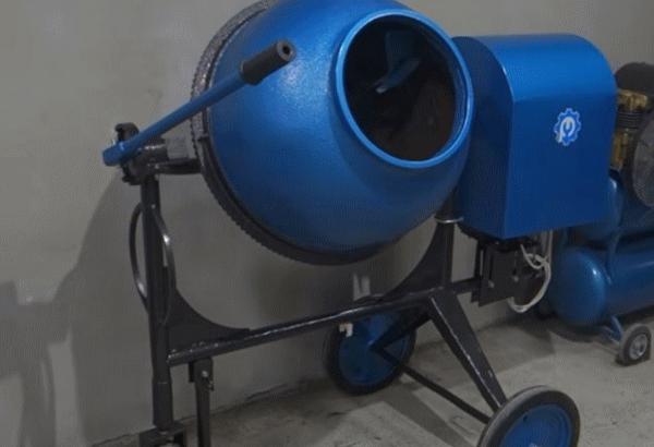 Ремонт и доработка старой бетономешалки