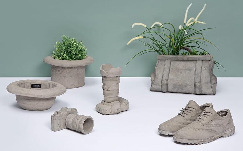 Поделки из цемента: оригинальный способ украсить сад