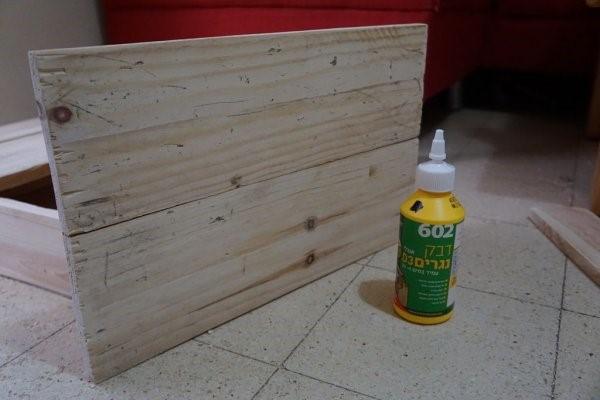 Ящик из поддонов для хранения инструментов своими руками