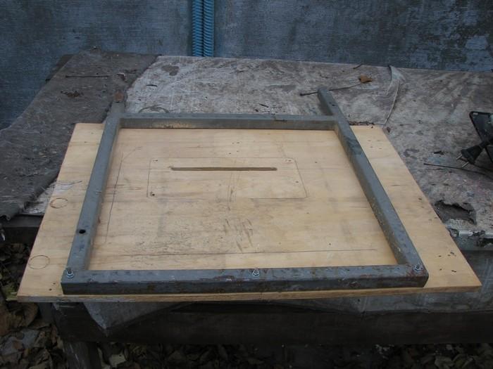 Столик для ручной пилы своими руками