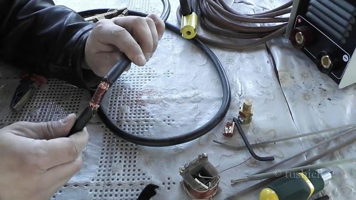 соединение кабеля для сварки2