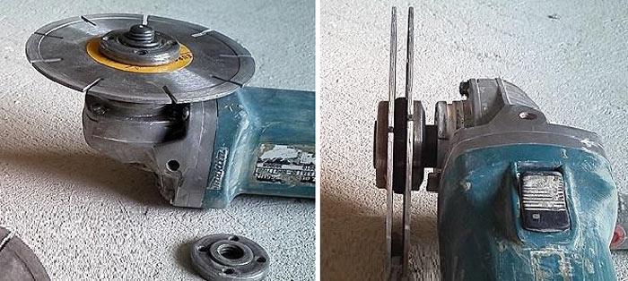 Электромонтажные работы: какие насадки на УШМ и перфоратор нужны