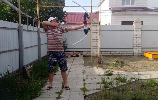 Лук своими руками: используем трубы ПВХ