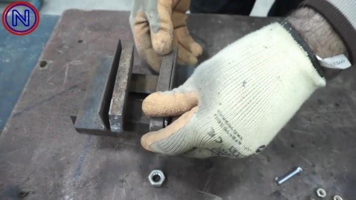 Мастерим своими руками: эксцентриковые тиски