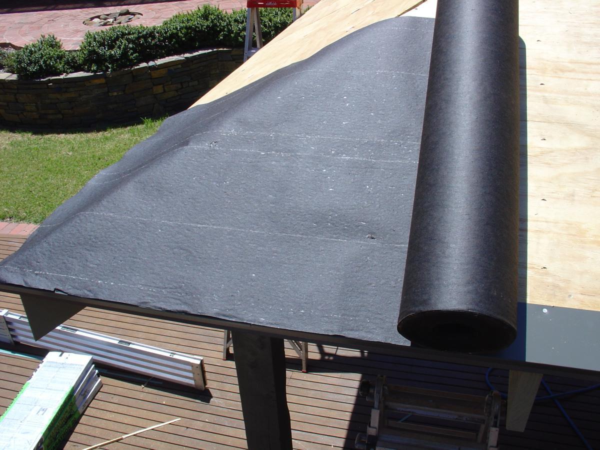 кровельный рубероид для крыши