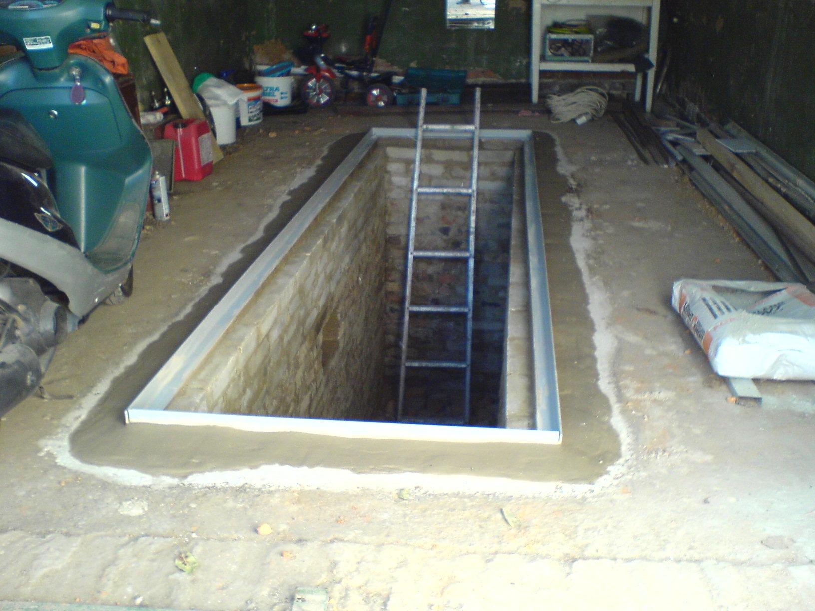 Обустраиваем гараж: делаем смотровую яму