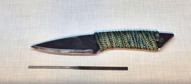 Как закалить режущую кромку ножа с помощью графита