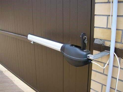 электропривод гаражных ворот мастерим своими руками