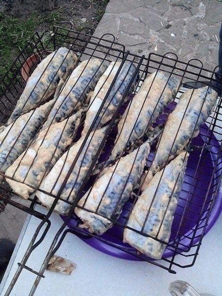 Рыба в фольге на углях: рецепты, как приготовить мангале или решетке    Блюда на мангале в фольге