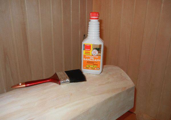 Как и чем обработать вагонку внутри бани и парилки