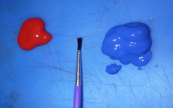 Как добиться фиолетового цвета
