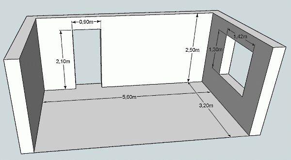 Калькулятор расчёта площади комнаты, расчет площади пола и потолка